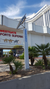 RATH® 9 ft Tower at Westgate Hotel and Casino, Las Vegas