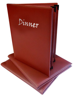 Gold River™ 2 Panel Padded Menu Covers