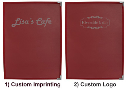 Please choose from ONE option below: Custom Imprinting or Custom Logo