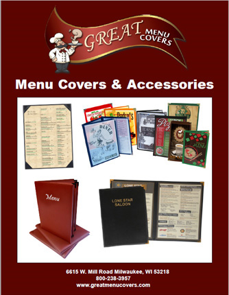 Great Menu Covers Virtual Catalog