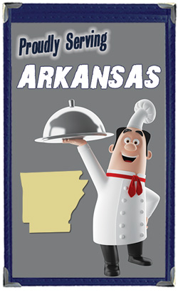 Great Menu Covers proudly serves restaurants in Arkansas with their menu covers and accessories