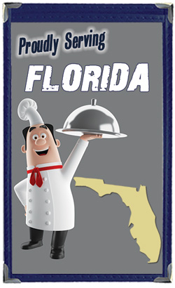Great Menu Covers proudly serves restaurants in Florida with their menu covers and accessories