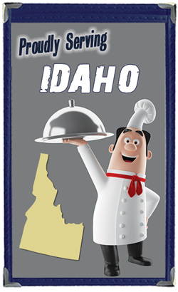 Great Menu Covers proudly serves restaurants in Idaho with their menu covers and accessories