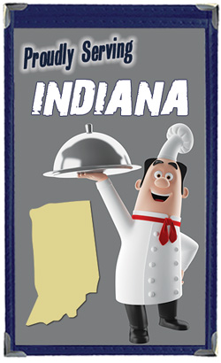 Great Menu Covers proudly serves restaurants in Indiana with their menu covers and accessories