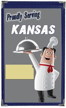 Great Menu Covers proudly serves restaurants in Kansas with their menu covers and accessories