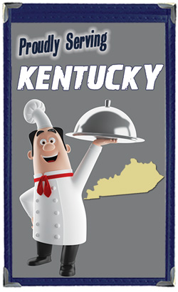 Great Menu Covers proudly serves restaurants in Kentucky with their menu covers and accessories