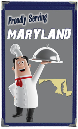 Great Menu Covers proudly serves restaurants in Maryland with their menu covers and accessories