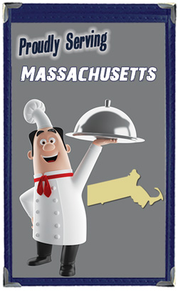Great Menu Covers proudly serves restaurants in Massachusetts with their menu covers and accessories