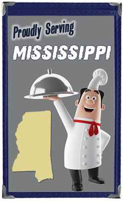 Great Menu Covers proudly serves restaurants in Mississippi with their menu covers and accessories