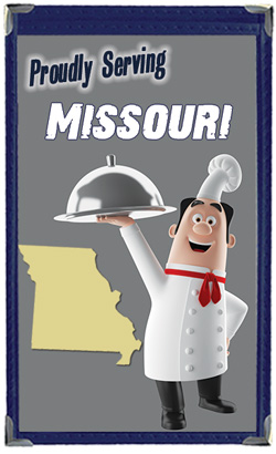Great Menu Covers proudly serves restaurants in Missouri with their menu covers and accessories
