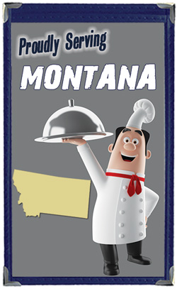 Great Menu Covers proudly serves restaurants in Montana with their menu covers and accessories