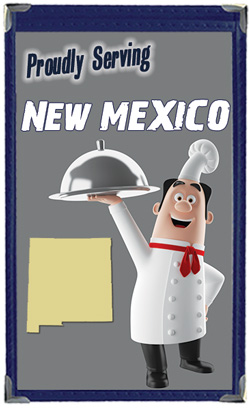 Great Menu Covers proudly serves restaurants in New Mexico with their menu covers and accessories