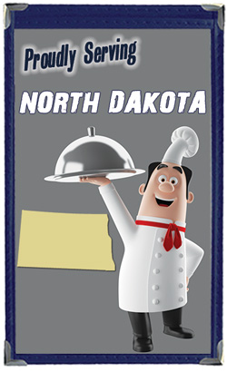 Great Menu Covers proudly serves restaurants in North Dakota with their menu covers and accessories