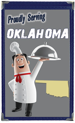Great Menu Covers proudly serves restaurants in Oklahoma with their menu covers and accessories