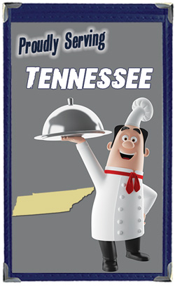 Great Menu Covers proudly serves restaurants in Tennessee with their menu covers and accessories