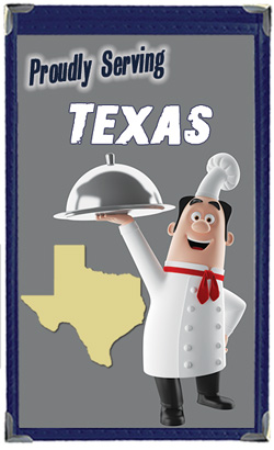 Great Menu Covers proudly serves restaurants in Texas with their menu covers and accessories
