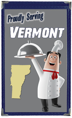 Great Menu Covers proudly serves restaurants in Vermont with their menu covers and accessories