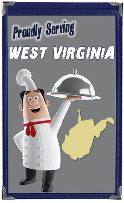 Great Menu Covers proudly serves restaurants in West Virginia with their menu covers and accessories