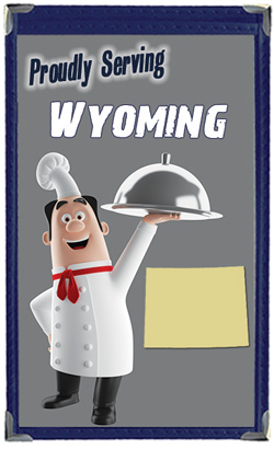 Great Menu Covers proudly serves restaurants in Wyoming with their menu covers and accessories
