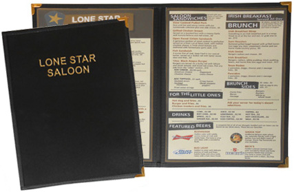Stoney Creek™ 2 View Menu Cover