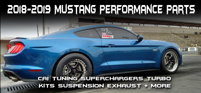 2018 Mustang Performance Parts
