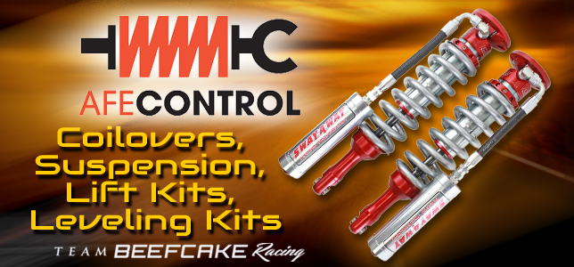 AFE Control Suspension, Coilovers, Lift Kits and Leveling Kits