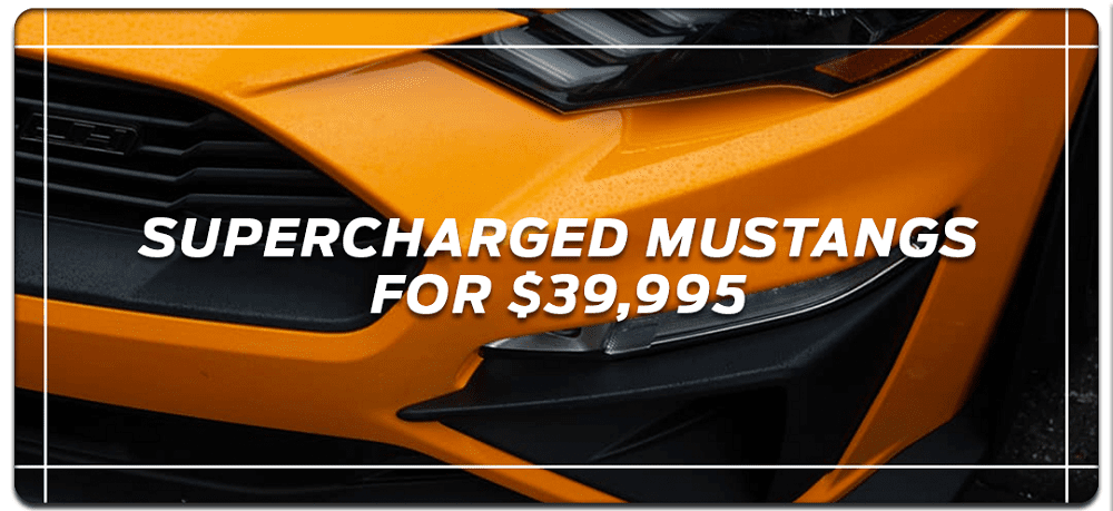 LFP Supercharged Mustang GT Packages