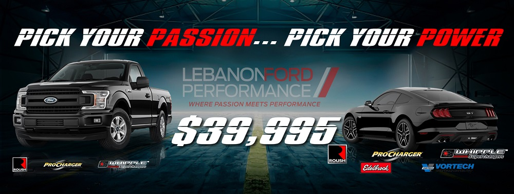 LFP Mustang and F150 Promotion