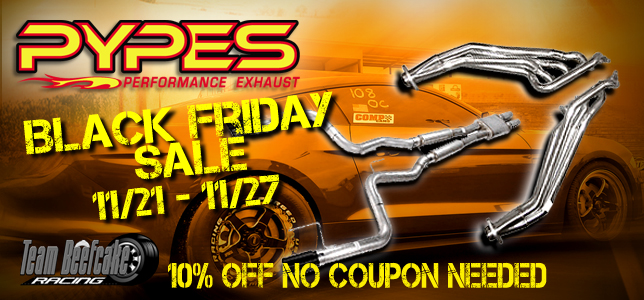 Pypes Performance Exhaust 2018 Black Friday Sale