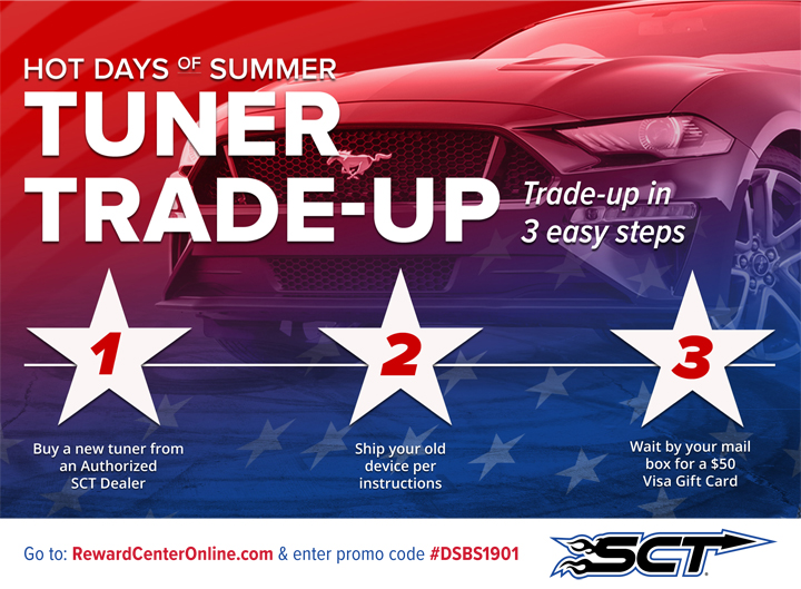 SCT 2019 Rebate Sale Trade In