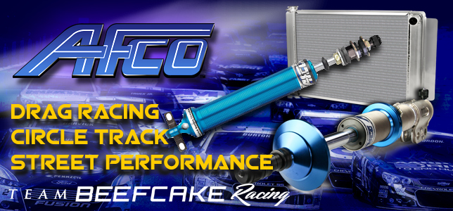 AFCO Suspension, Cooling, Exhaust, Brakes