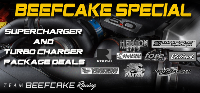 Beefcake Special Supercharger Packages
