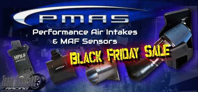 2018 Black Friday Sale PMAS Cold Air Intakes and MAF Sensors
