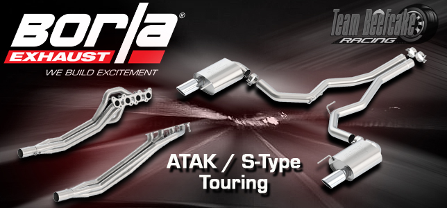 Borla Exhaust - ATAK, S-Type & Touring