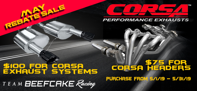Corsa Performance Exhaust and Long Tube Headers