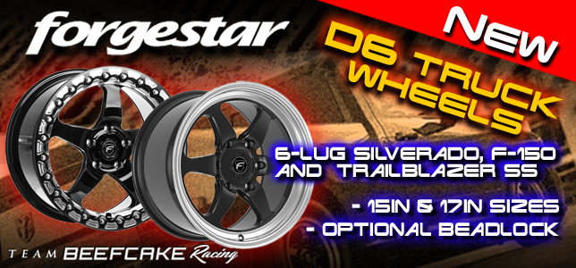D6 Forgestar Truck Drag Wheels