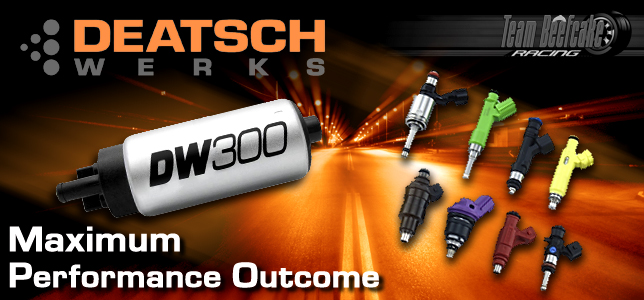 Deatschwerks Performance Fuel Injectors and Fuel Pumps