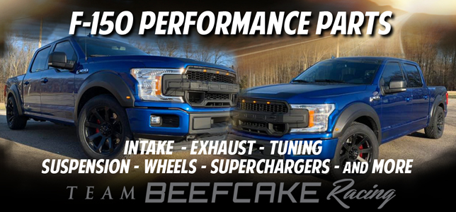 F-150 Truck Performance Parts and Upgrades