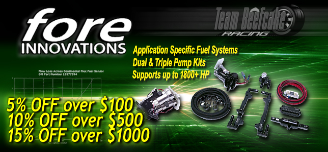 Sale Fore Innovations Fuel Systems