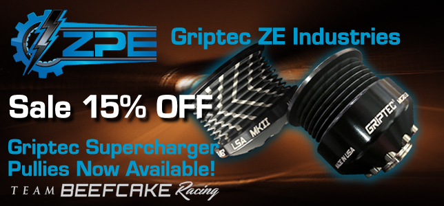 GripTec Supercharger Pullies Sale 15% OFF