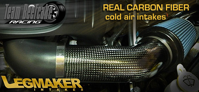 Legmaker Hemi Intakes Carbon Fiber Cold Air Kits