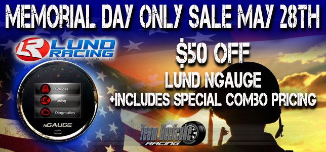 Lund nGauge Memorial Day Sale