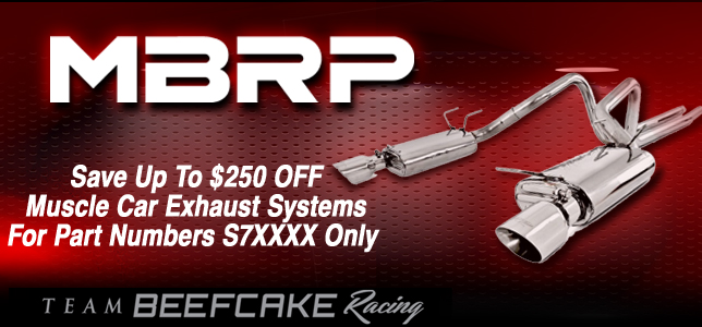 Sale MBRP Exhaust $250 OFF
