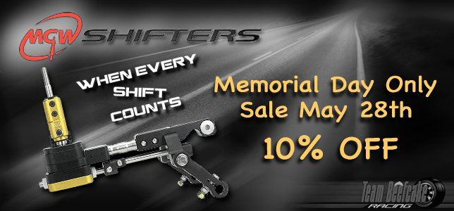 MGW Memorial Day Sale