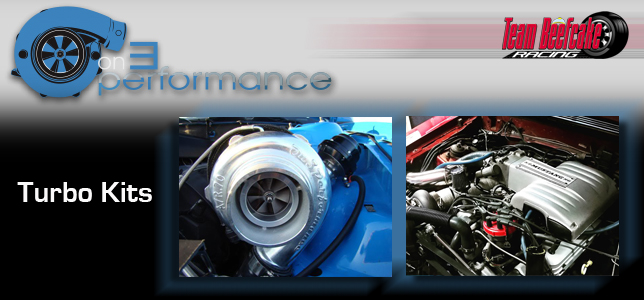 On 3 Performance Turbo Kits, Mustang Turbo Kits