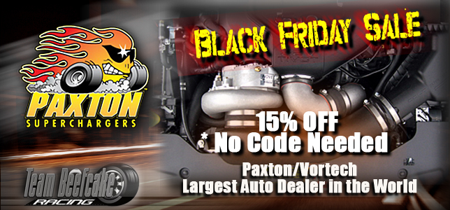 Black Friday Sale Paxton Superchargers