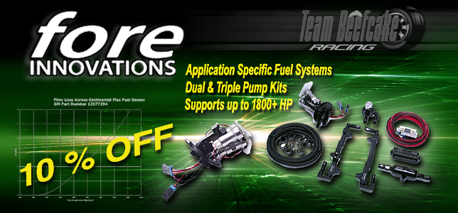Sale 10% OFF Fore Innovations Fuel Systems