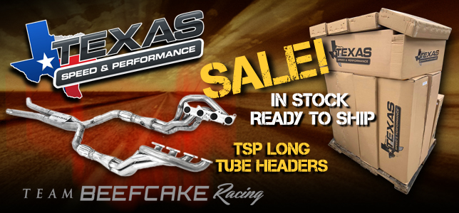 TSP Texas Speed Performance Headers In Stock