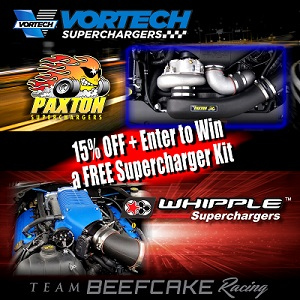 Vortech Paxton Whipple FREE Supercharger