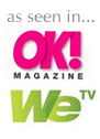 As seen in OK! Magazine and WeTV.